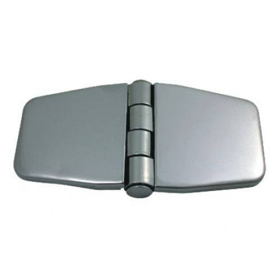 COVERED CABINET HINGES STAINLESS STEEL–316 Μ: 76mm W: 37mm