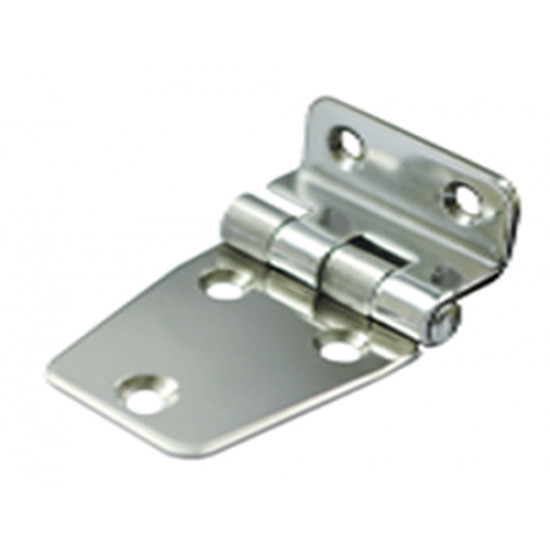 DOUBLE ANGLED HINGES STAINLESS STEEL – 316 L:65mm  W:40mm