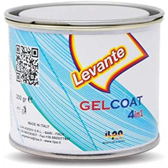 GELCOAT FILLER WHITE LEVANTE 0.2Kg